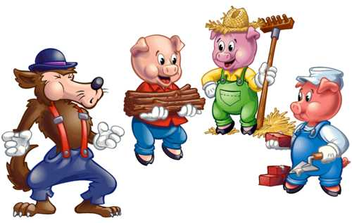 three little pigs short story