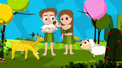 adam and eve bible story for kids