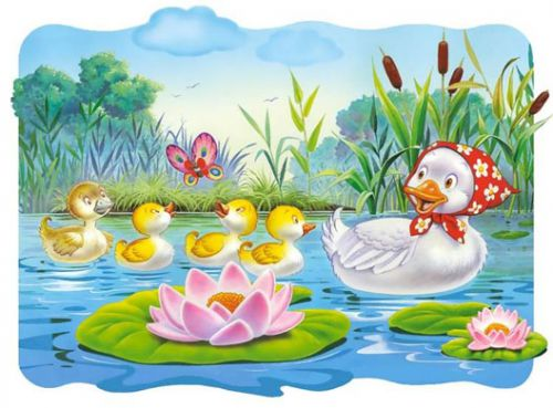 the ugly duckling story