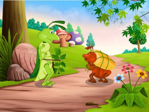 the ant and the grasshopper story