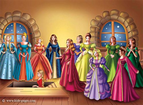 story of the twelve dancing princesses