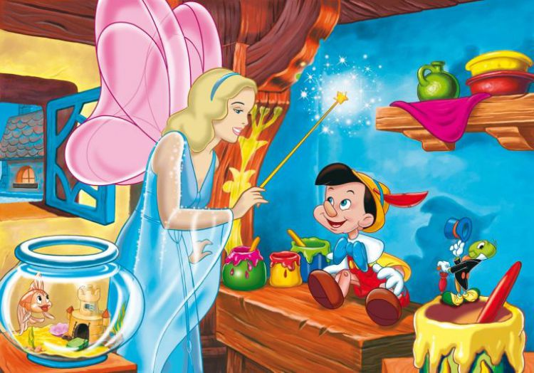 pinocchio story for kids