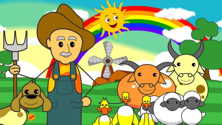 Old Mcdonalds Farm Song Bedtimeshortstories