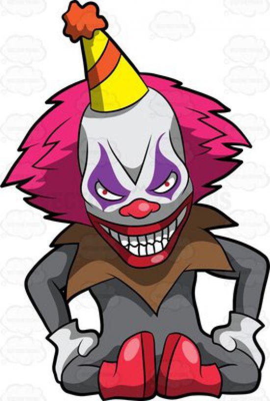 clown statue story