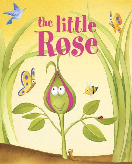 the little rose plant