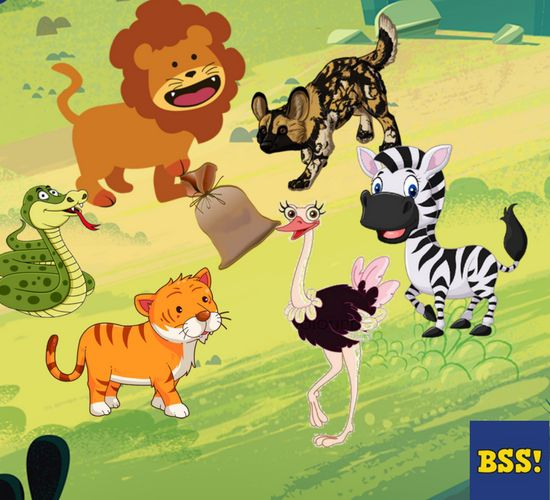 animal story with moral