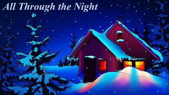 all through the night hymn
