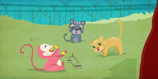 animal story with moral lesson