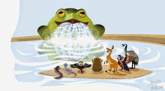 tiddalick the frog