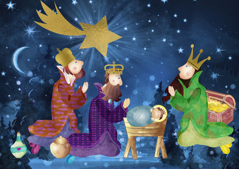 we three kings song