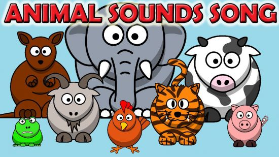 animal sounds song