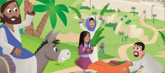 palm sunday children's songs