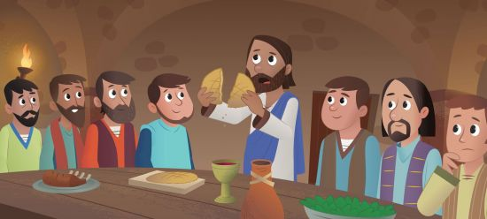 the last supper story