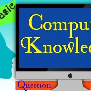 Computer Basic Knowledge