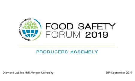 Food Safety Forum 2019 (Producers Assembly)