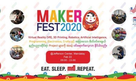 MakerFest Myanmar 2020 Mandalay