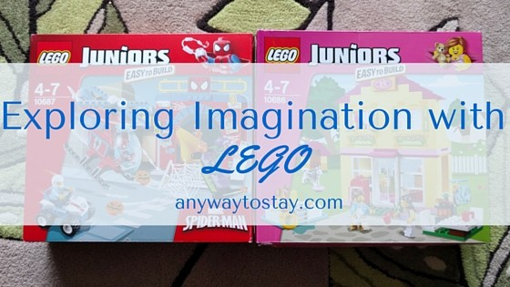 Exploring Imagination with LEGO