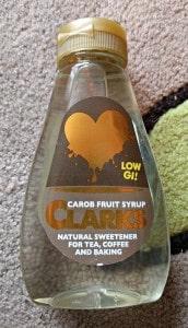Clark's Carob Fruit Syrup - January Degustabox