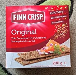 Finn Crisp Original - January Degustabox