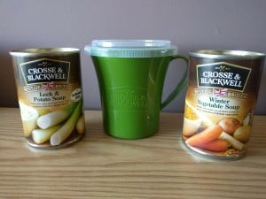 My Soups & Mug from Crosse and Blackwell