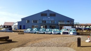 A sunny day at the Herbert Woods Boat Yard last year