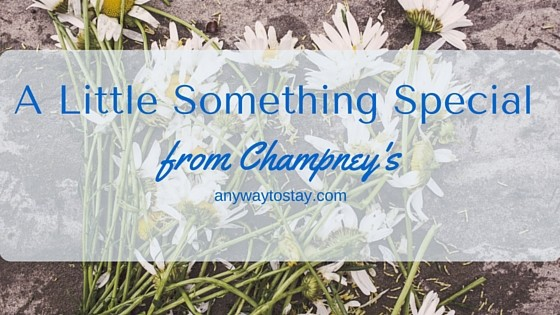 A Little Something Special from Champney's