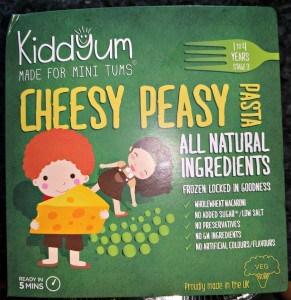 Kiddyum Cheesy Peasy