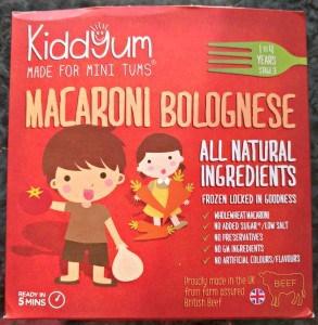 Kiddyum Macaroni Bolognese