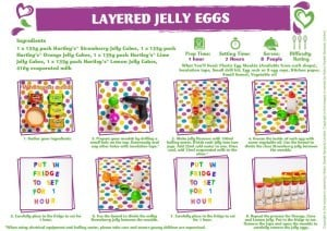 Layered Jelly Eggs Method