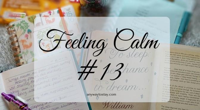 Feeling Calm #13