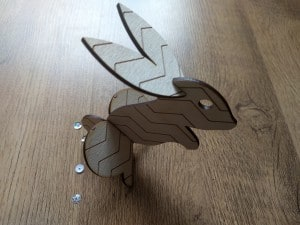 Cute Wooden Rabbit