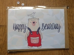 Who wouldn't want to be wished Happy Bearday