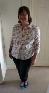 This is me at the weekend, my before picture, lets hope