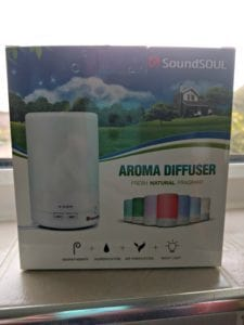 SoundSOUL Aroma Diffuser In Box