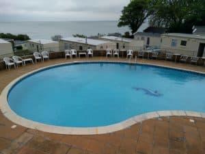 The beautiful swimming pool at Sandaway