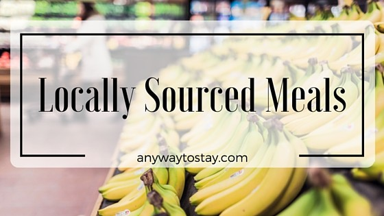 Locally Sourced Meals