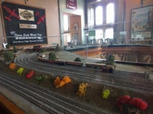 Model Trains at Watermouth Castle