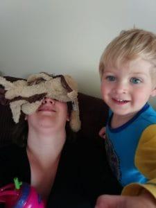 Mummy rest, hide with Gerry Giraffe