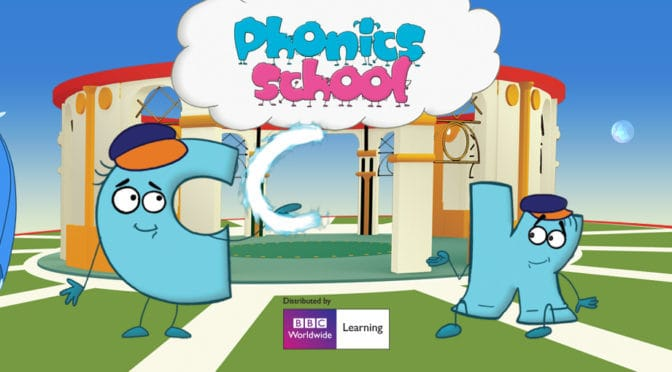 Phonics School Cartoon & Workbook