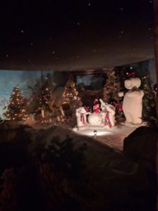 Christmas at the crazy golf