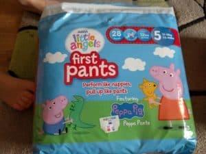 Asda Little Angels First Pants - Peppa Pig