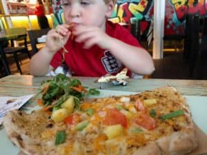 More food than he could eat!! Turtle Bay