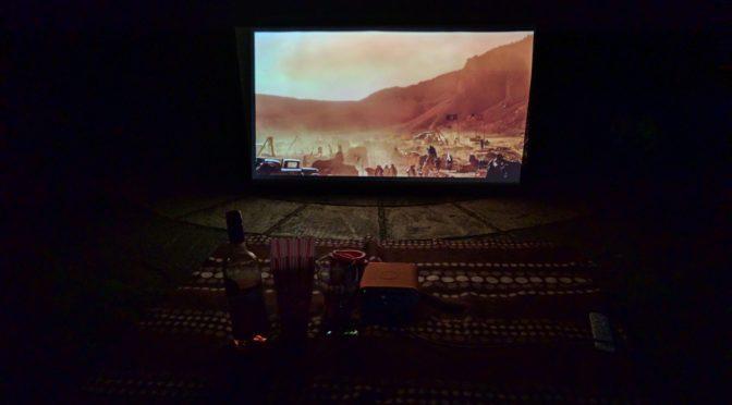 Outdoor Cinema, Any Time, Any Where