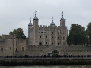 Tower of London from our River Cruise