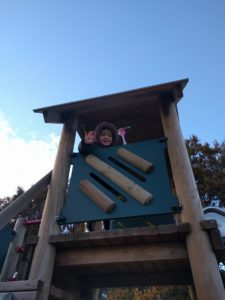 At the top of the slide