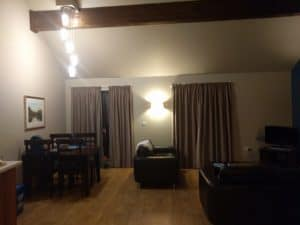 Our spacious lodge