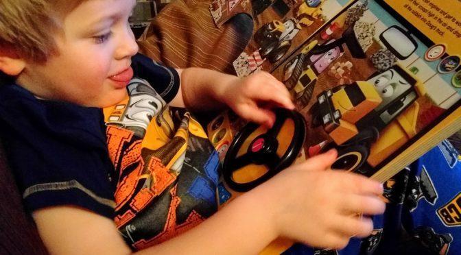 JCB Kids Book and Pajamas