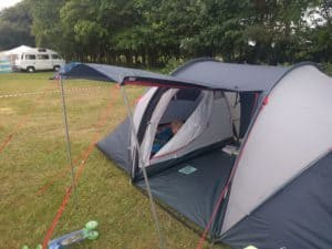 Camping tent from Halfords