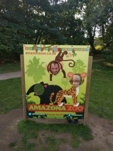 Amazona Zoo sign