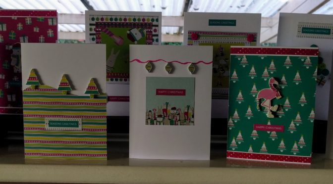 The 12 Makes of Christmas – Christmas Cards
